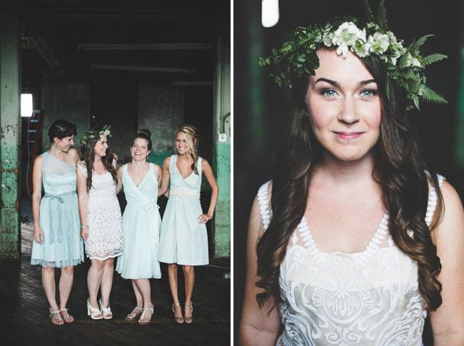 nautical bridesmaids