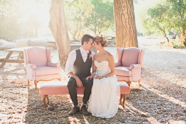 pretty in pink wedding