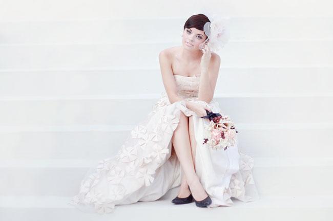 Audrey Hepburn Inspired Wedding Dresses 3 Good Audrey Hepburn inspired bridal