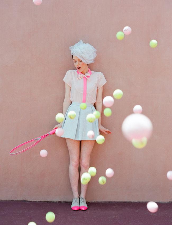 tennis ball bridal shower
