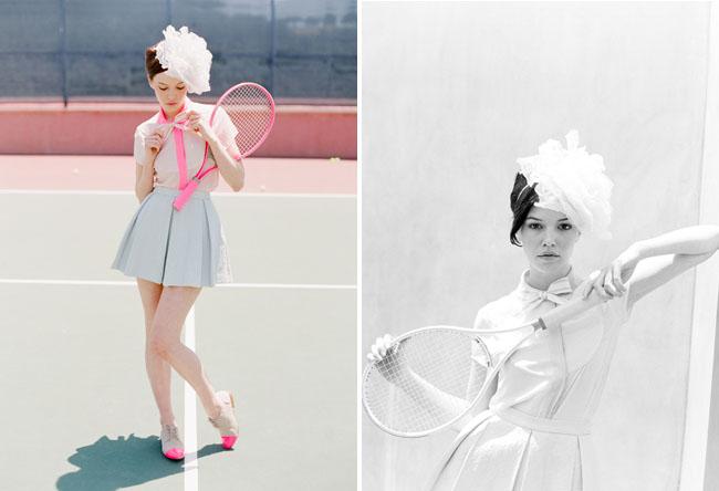 tennis bride