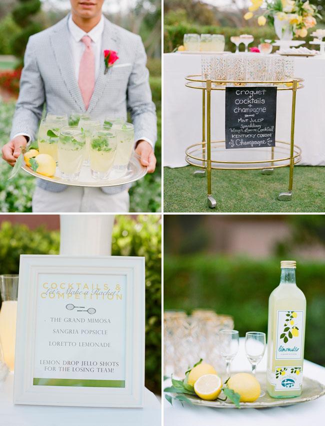 lemon cocktail bar