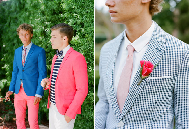 well-styled grooms