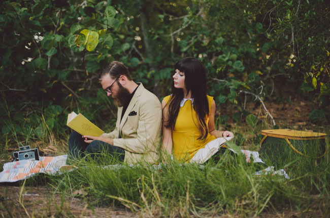 wes anderson engagement