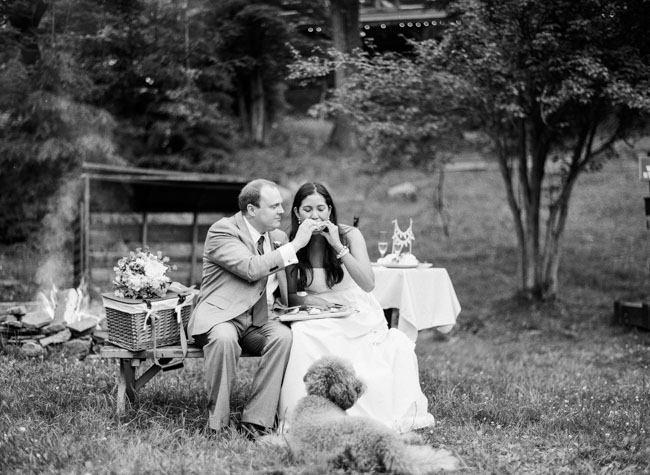 elopement picnic