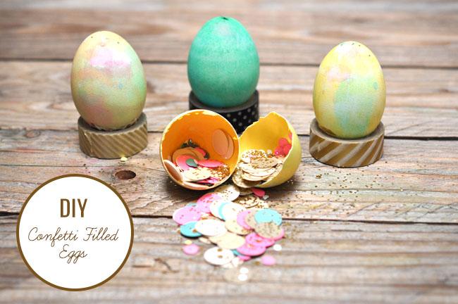 Confetti Filled Egg DIY