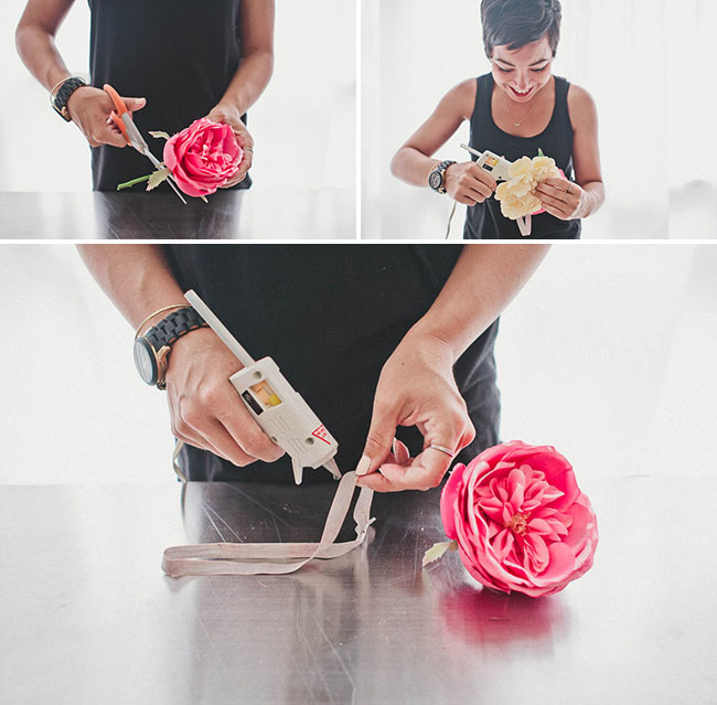 DIY_Silk_flower_crown_steps
