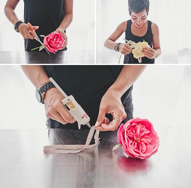 DIY_Silk_flower_crown_steps