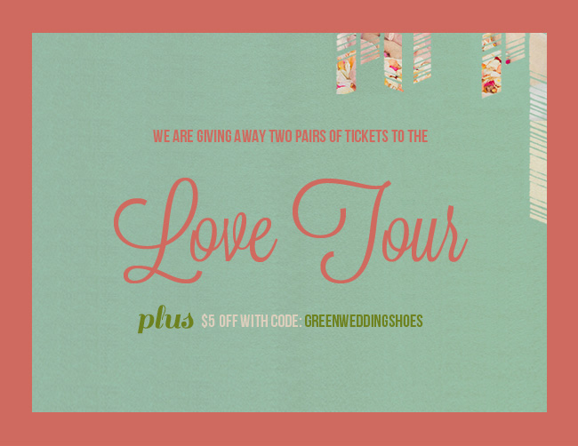 The Love Tour Giveaway