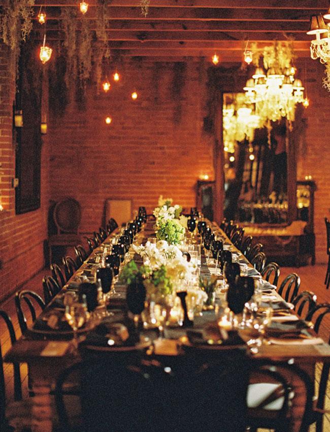 rich toned wedding