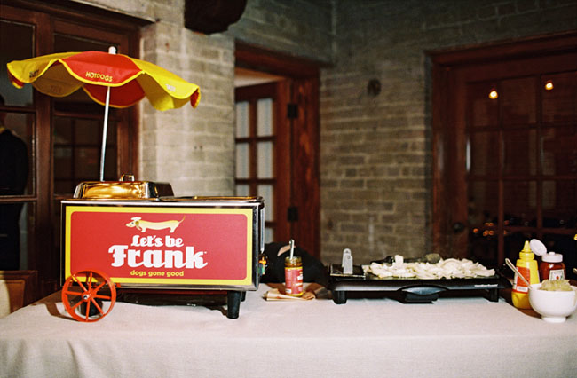 hot dog wedding
