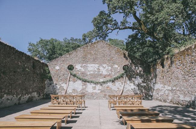 stone ruin ceremony