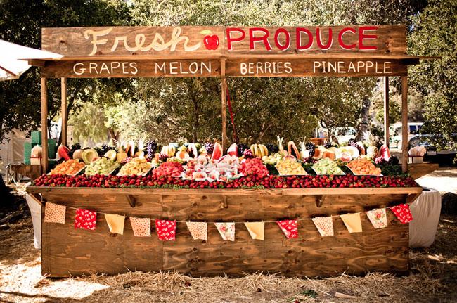 Market Stand Designs : Fun farmers market inspired wedding chelsea dillon