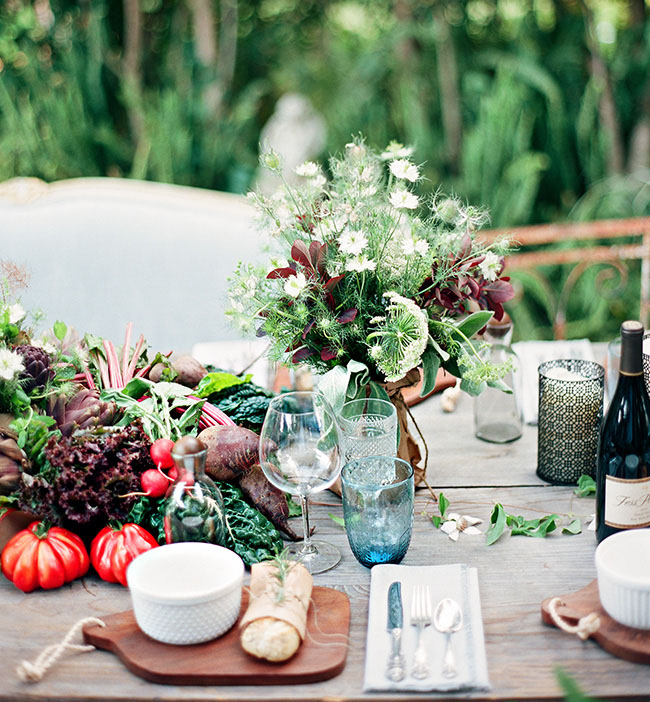 Wedding Ideas And Inspirations: Farm-to-Table Wedding Inspiration