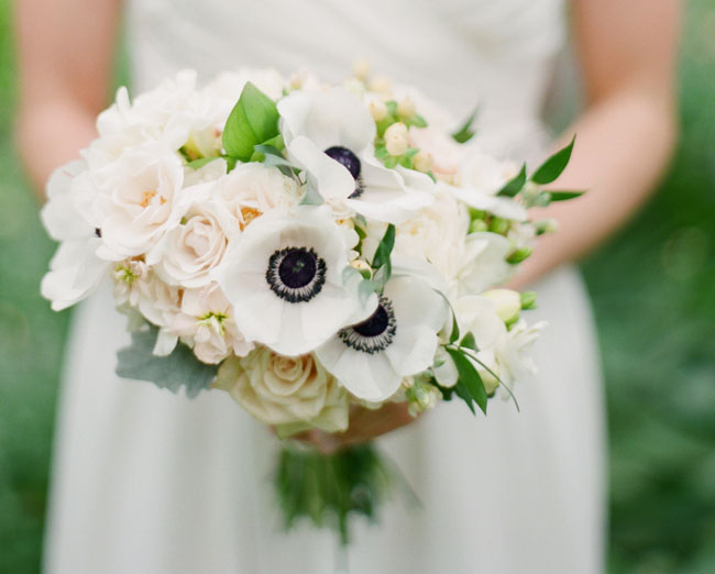 virginia anemone bouquet