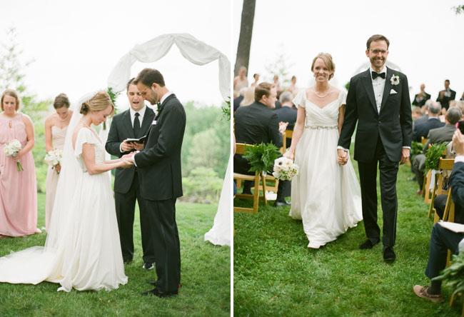 outdoor virginia wedding