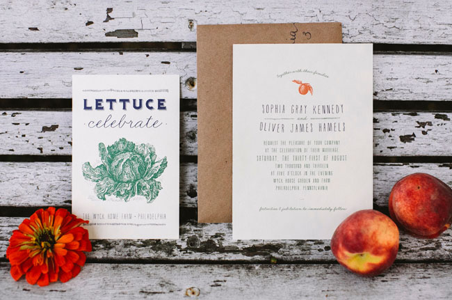 gentleman farmer invitation