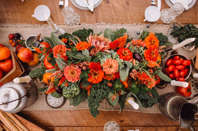 fall farmer table inspiration
