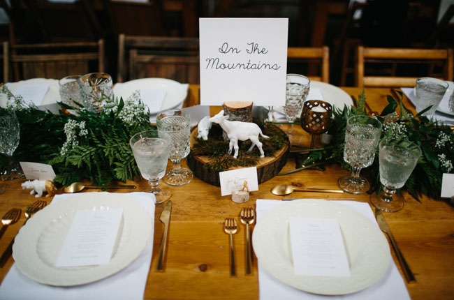 animal table numbers