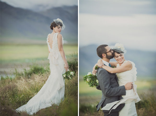 iceland bride and groom