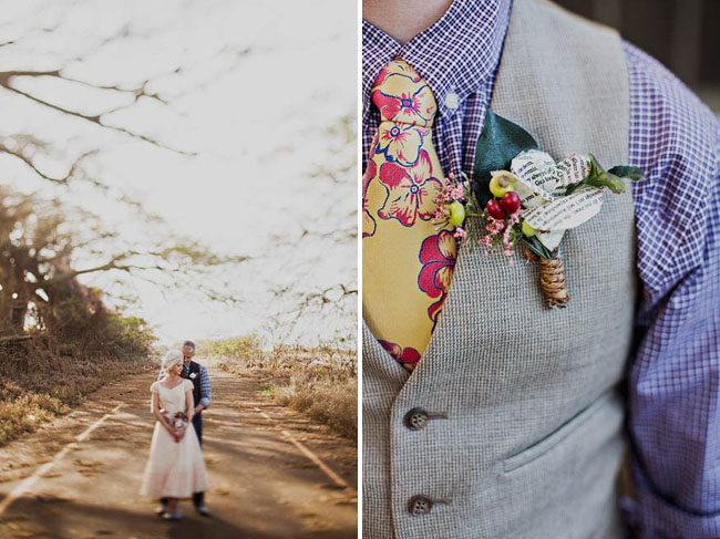 hawaii boutonniere