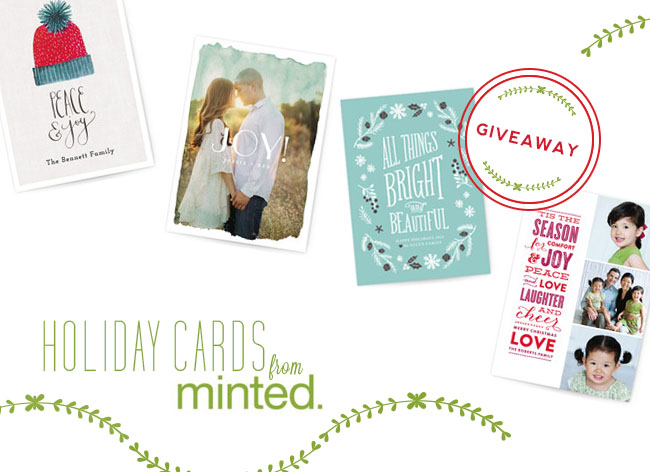 Holiday Cards for Newlyweds