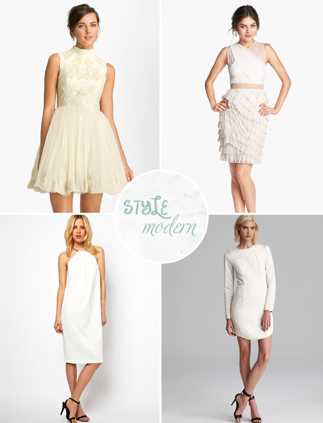 modern wedding dresses under $100