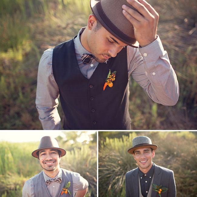 groomsmen hats