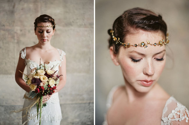 jeweled head piece