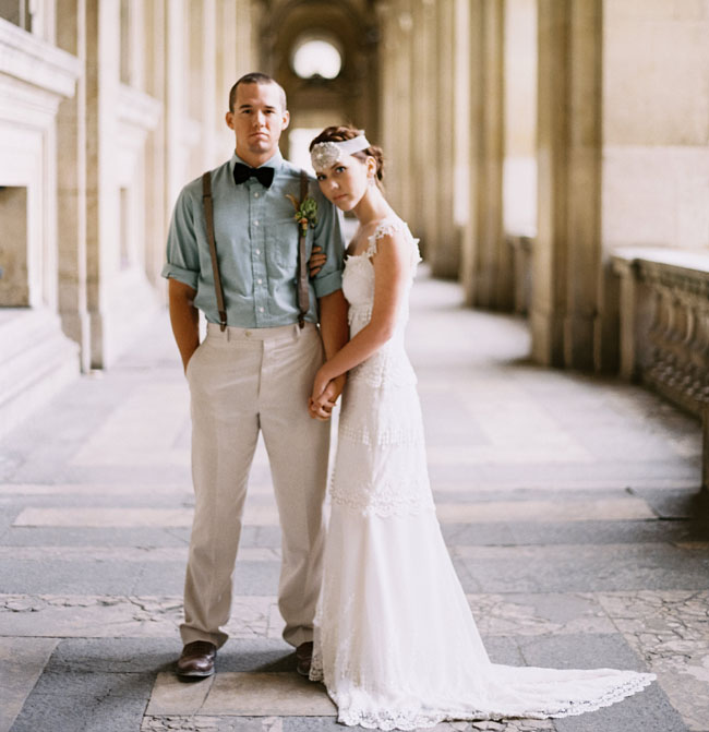 paris bride and groom
