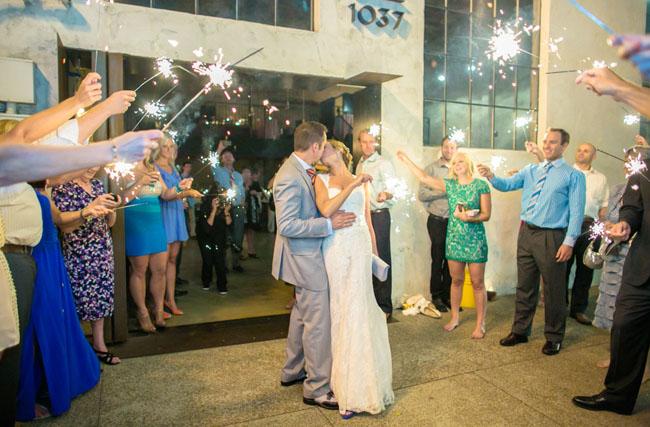 farmers market wedding exit