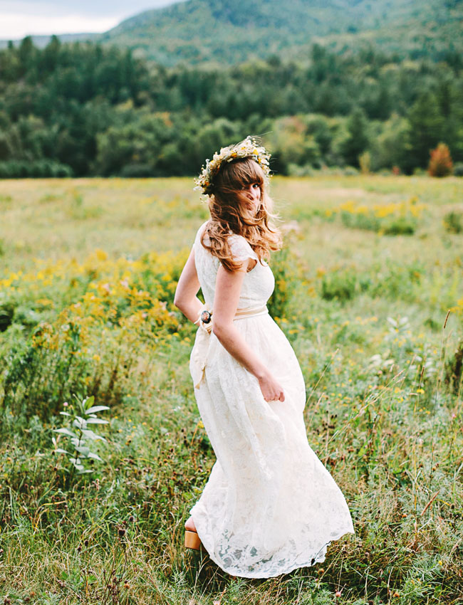 Adirondack Mountains Bride