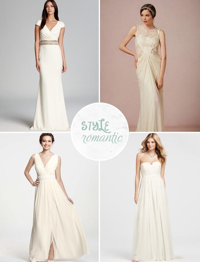 romantic wedding dresses under $100