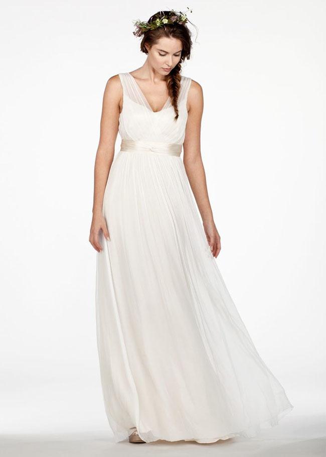 Simplest Wedding Dress 17 Popular flower crown