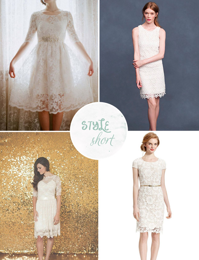 short wedding dresses under $100