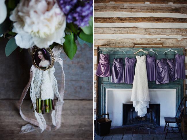 lace bouquet wrap