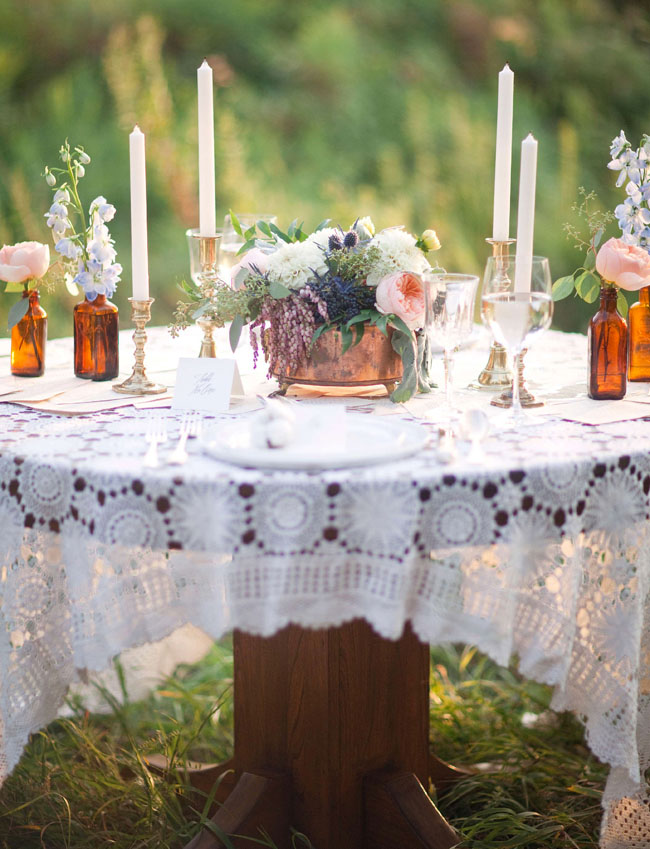 summer into fall table