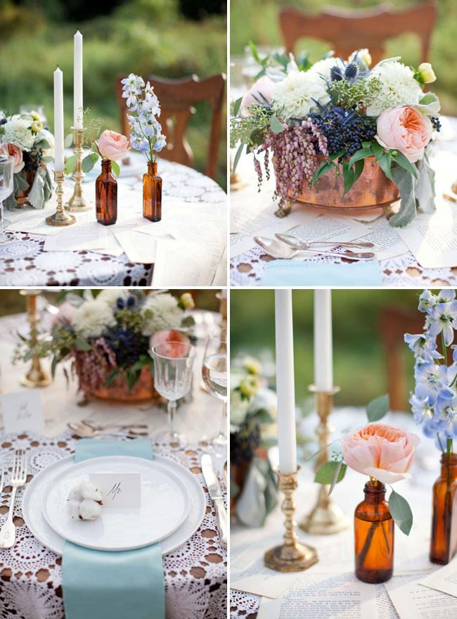Vintage Fall Wedding Inspiration