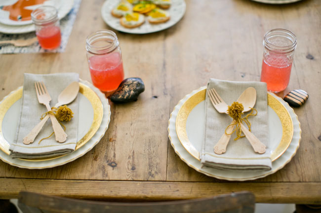 home dinner setup & Charming At Home Vow Renewal