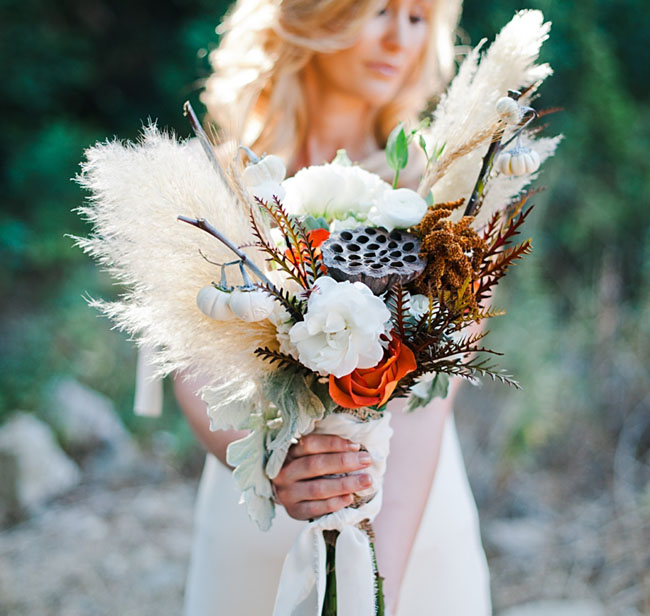 fall inspired bouquet