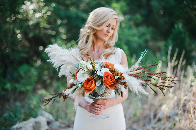 fall pumpkin bride