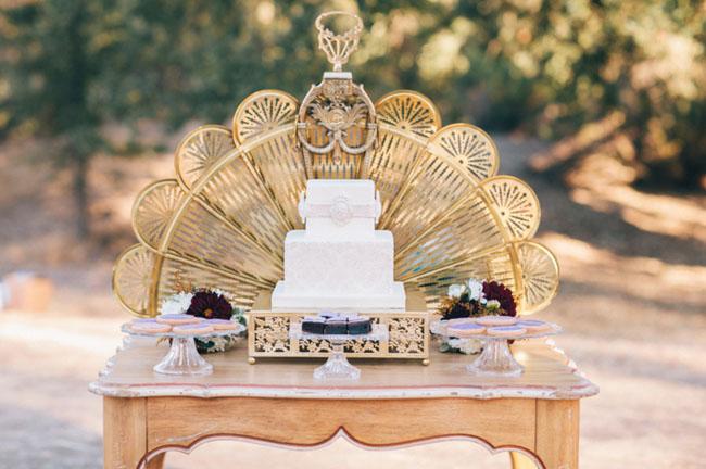 20s inspired cake