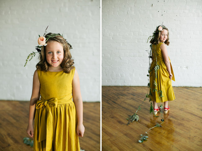 20s flower crown flower girl