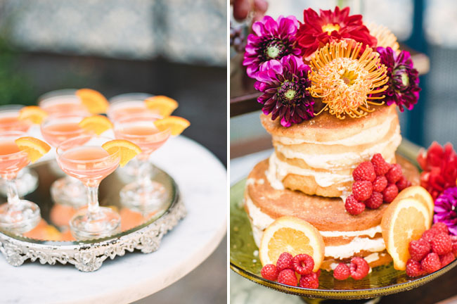 naked bohemian cake