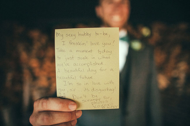 groom note
