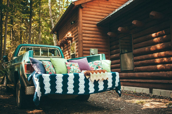 truck bed lounge