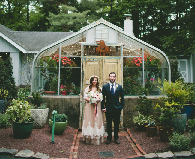 Pennsylvania Backyard Wedding Katie Ryan - Backyard greenhouse ideas