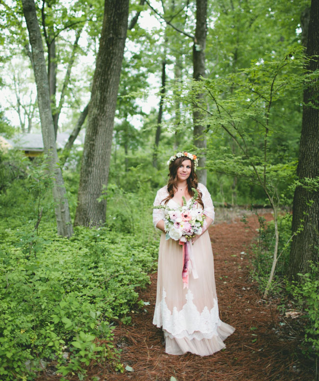 pennsylvania BHLDN bride