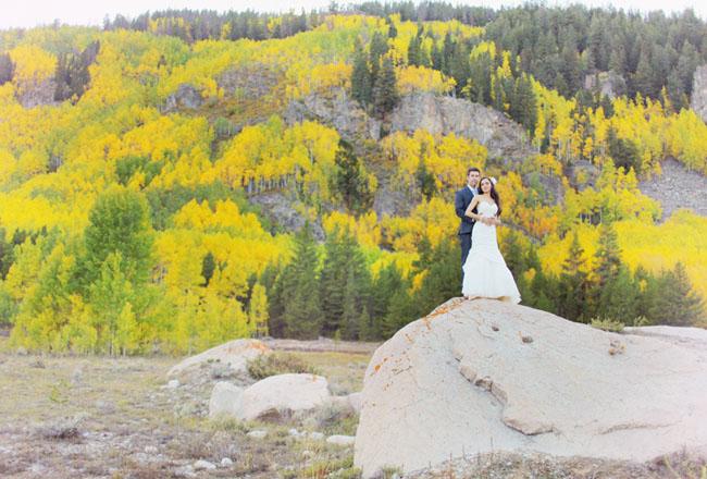 aspen fall wedding