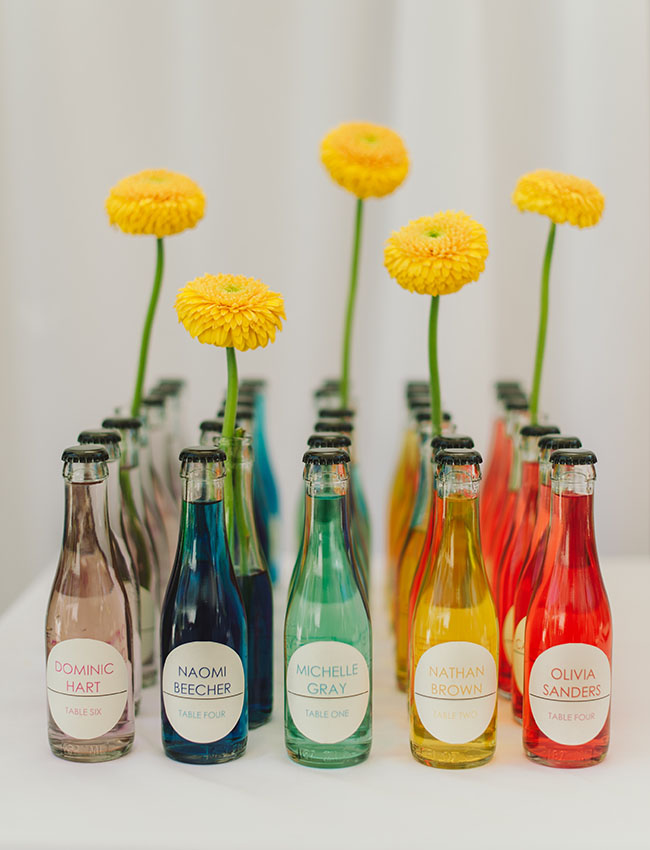 colorful soda bottles